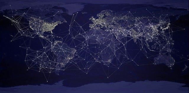 VPN kuvattuna maailmankartalla